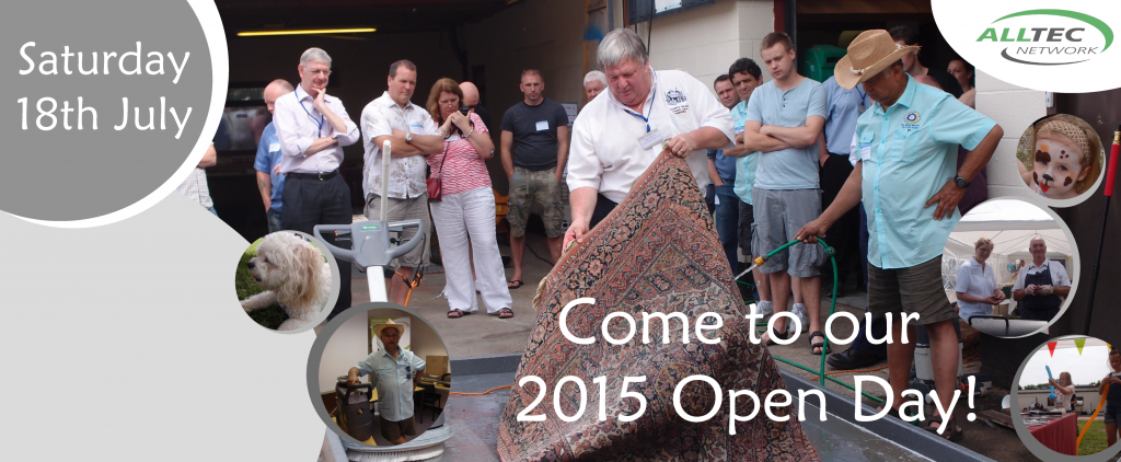 Carpet Cleaning Open Day 2015
